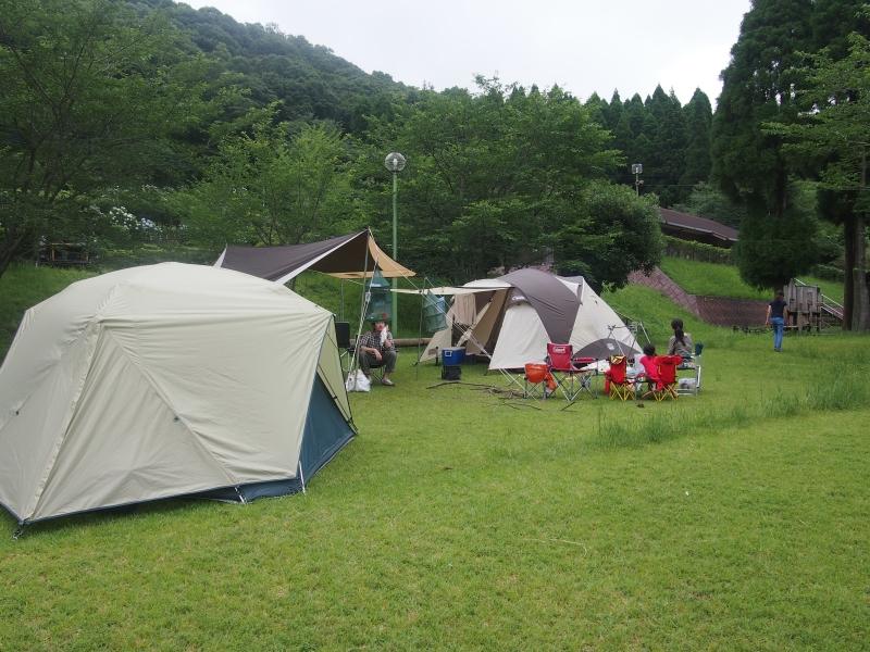 【観音ヶ池 市民の森】グループキャンプ行ってきました~いちき串木野市~