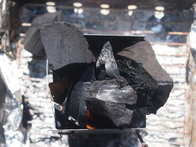 【DIY火おこし器】自作炭おこし器を使ってみたら、十分使えました。