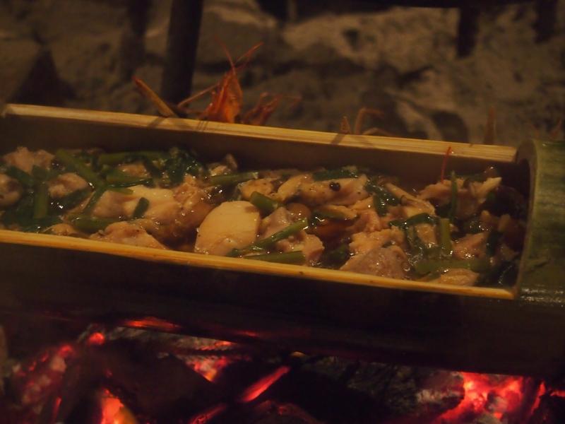 【キャンプ料理②】すべての日本人に味わってもらいたい!『かっぽ酒』と『かっぽ鶏』を食す!