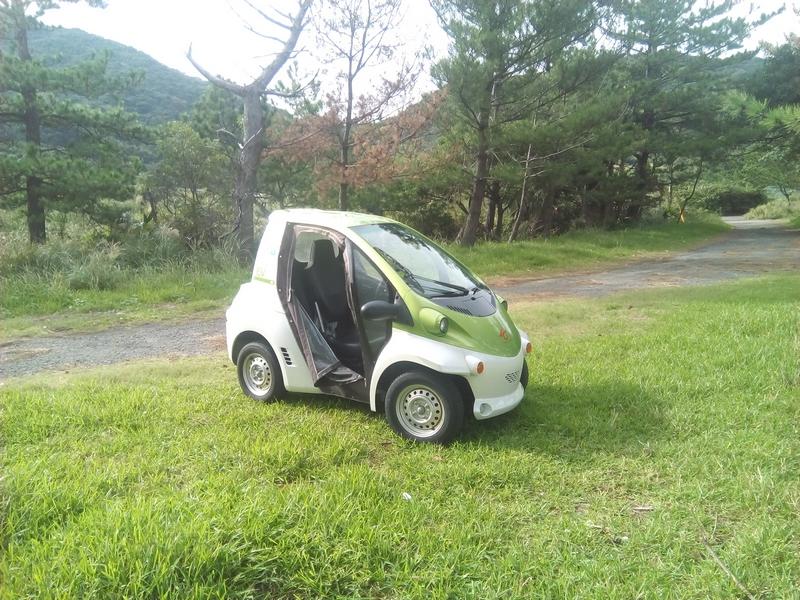 【エコ自動車】2時間1000円!国定公園甑島は電気自動車コムスで楽しもう!