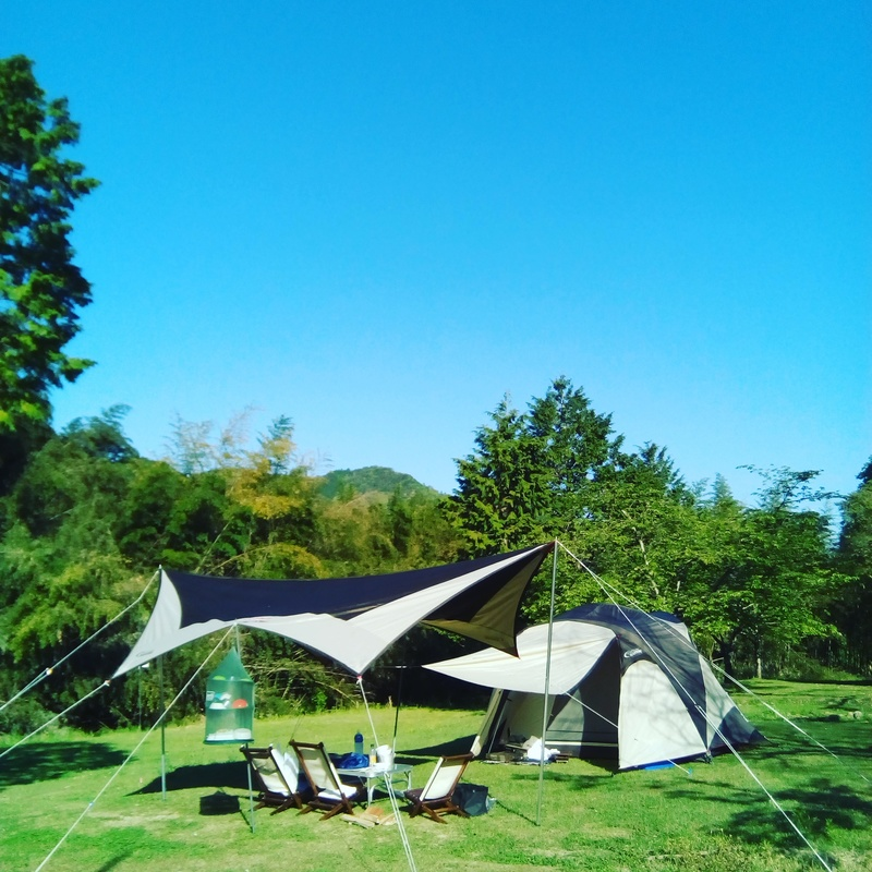 恐竜の眠る里、川代公園キャンプ場に行ってきました!
